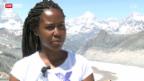 Video «Enttäuschung bei der Monte Rosa Hütte» abspielen