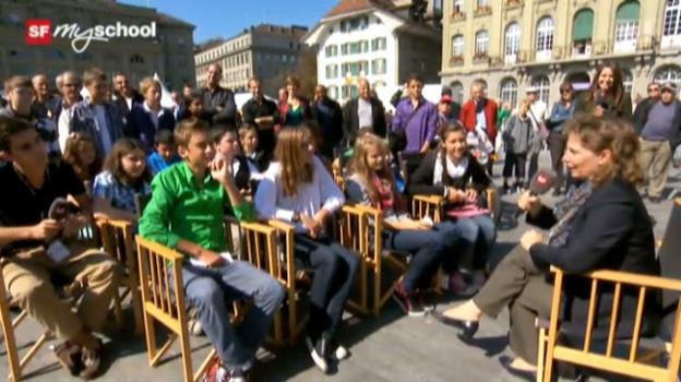 Video «Treffpunkt Bundesplatz: Live-Interview (2/11)» abspielen