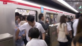 Video «Japans Problem mit offenen Stellen» abspielen