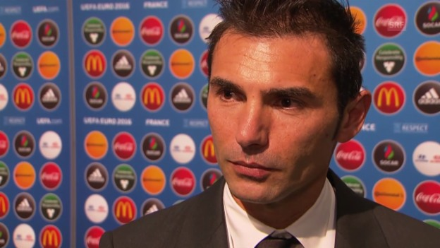 Video «Fussball: Interview mit San-Marino-Coach Pier Angelo Manzaroli» abspielen