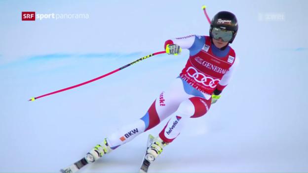 Video «Gut triumphiert in Val d'Isere» abspielen