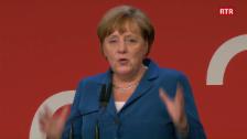 Laschar ir video «Il pled da la chanceliera da la Germania Angela Merkel»