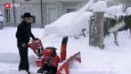 Video «Schneemassen im Wallis» abspielen