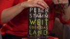 Video ««Weit über das Land» von Peter Stamm (S. Fischer)» abspielen