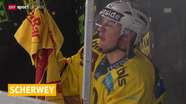 Video «Eishockey: NLA, SCB, Tristan Scherwey» abspielen