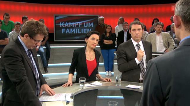 «Arena»: Umstrittene Familienpolitik