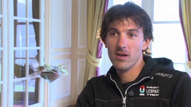 Video «Fabian Cancellara vor der Flandern-Rundfahrt im Interview» abspielen
