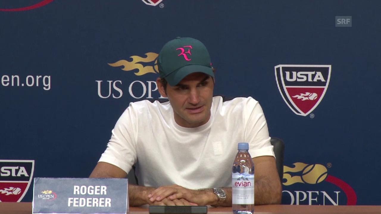 Tennis: US Open, Roger Federer vor dem Halbfinal