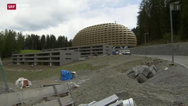 Video «Hotel Intercontinental Davos unter neuer Leitung» abspielen