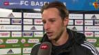 Video «Fussball: Stimmen zu Basel - Lugano» abspielen