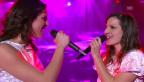Video «Natacha & Stéphanie an der Schweizer ESC-Vorausscheidung» abspielen