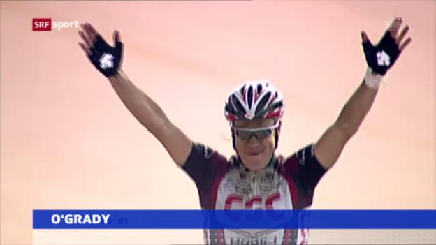 Video «Rad: Stuart O'Grady tritt zurück («sportaktuell»)» abspielen