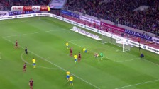 Video «Fussball: EM-Quali, Gruppe G, Russland - Schweden» abspielen