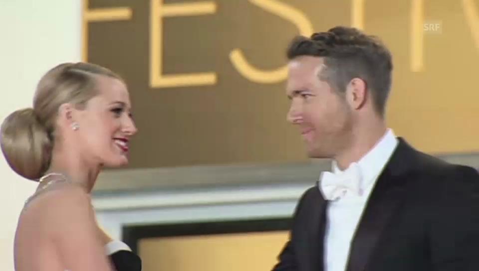 Lively und Reynolds: Verliebtes Ehepaar in Cannes