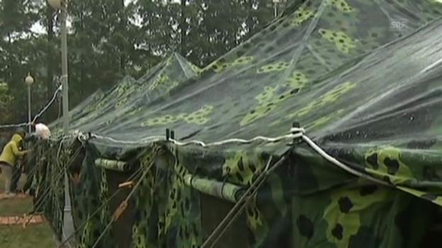 Video «Schulunterricht in chinesischen Zelten (unkomm.)» abspielen