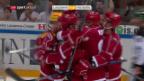 Video «Lausanne gewinnt Spektakel-Partie gegen Freiburg» abspielen