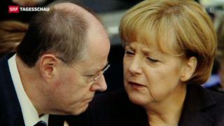Video «Merkel vs. Steinbrück » abspielen