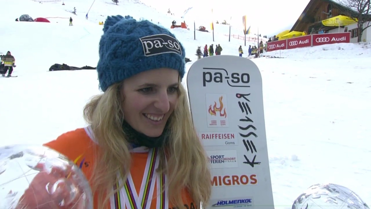 Snowboard: Parallel-Riesenslalom, Interview mit Kummer