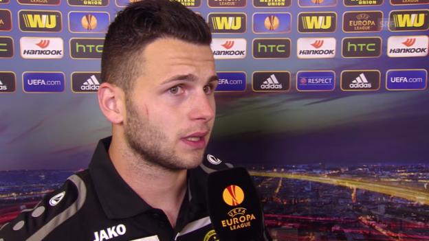Video «Fussball: Europa League, Interview mit Renato Steffen» abspielen