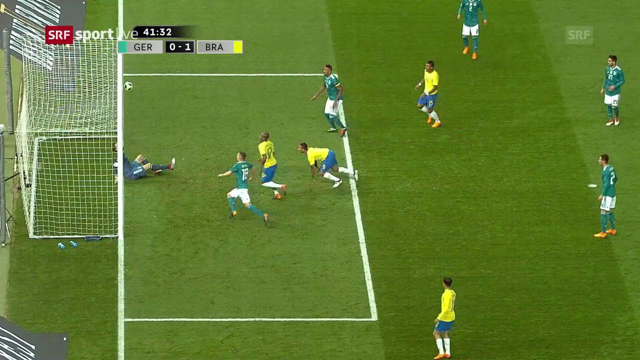Brasilien revanchiert sich für die 1:7-Schmach gegen Deutschland