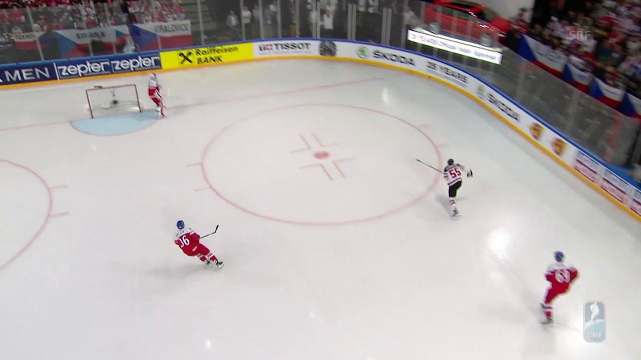 Kanada schlägt Tschechien