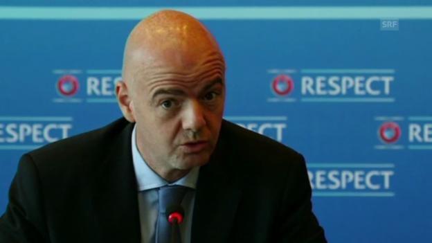 Video «32 Bewerber für EURO 2020» abspielen