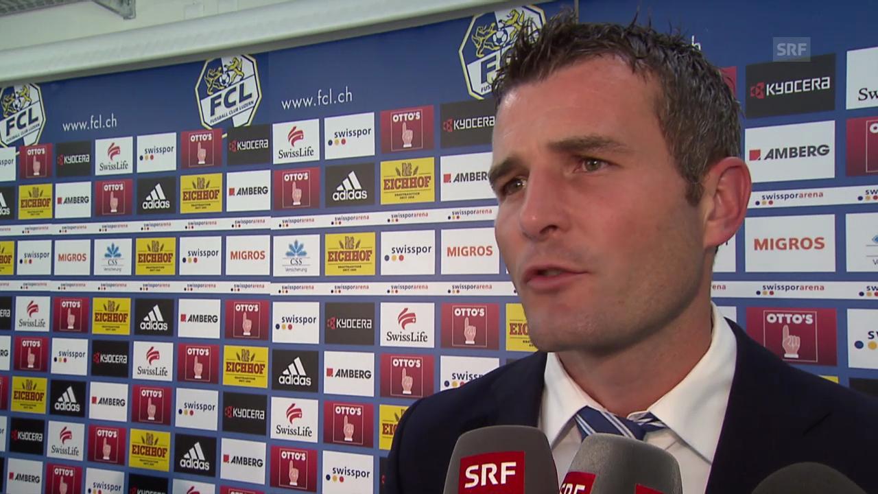 Fussball: FCL-Sportchef Alex Frei im Interview