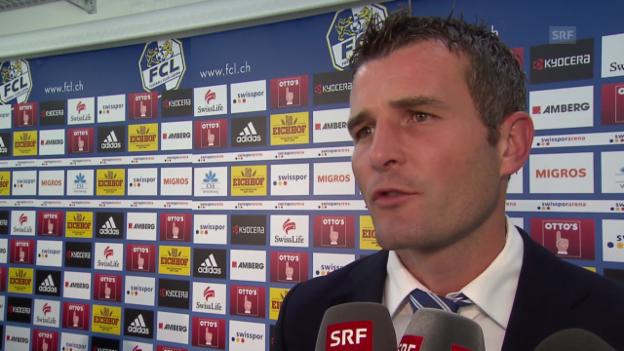 Video «Fussball: FCL-Sportchef Alex Frei im Interview» abspielen
