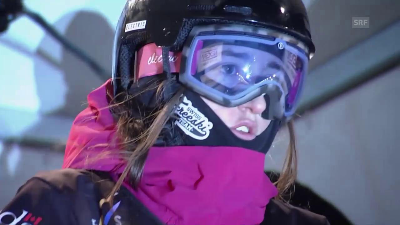 Big Air: Mathilde Gremaud räumt in Québec ab