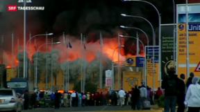 Video «Brand legt Flughafen von Nairobi lahm» abspielen