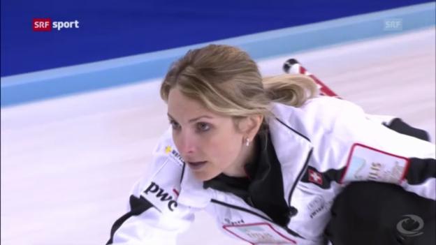 Video «Curling: Sieg und Niederlage für Schweizerinnen» abspielen