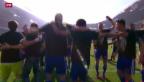 Video «Basel zum sechsten Mal in Serie Schweizer Meister» abspielen