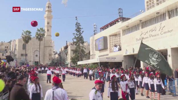 Video «Weihnachten in Bethlehem» abspielen