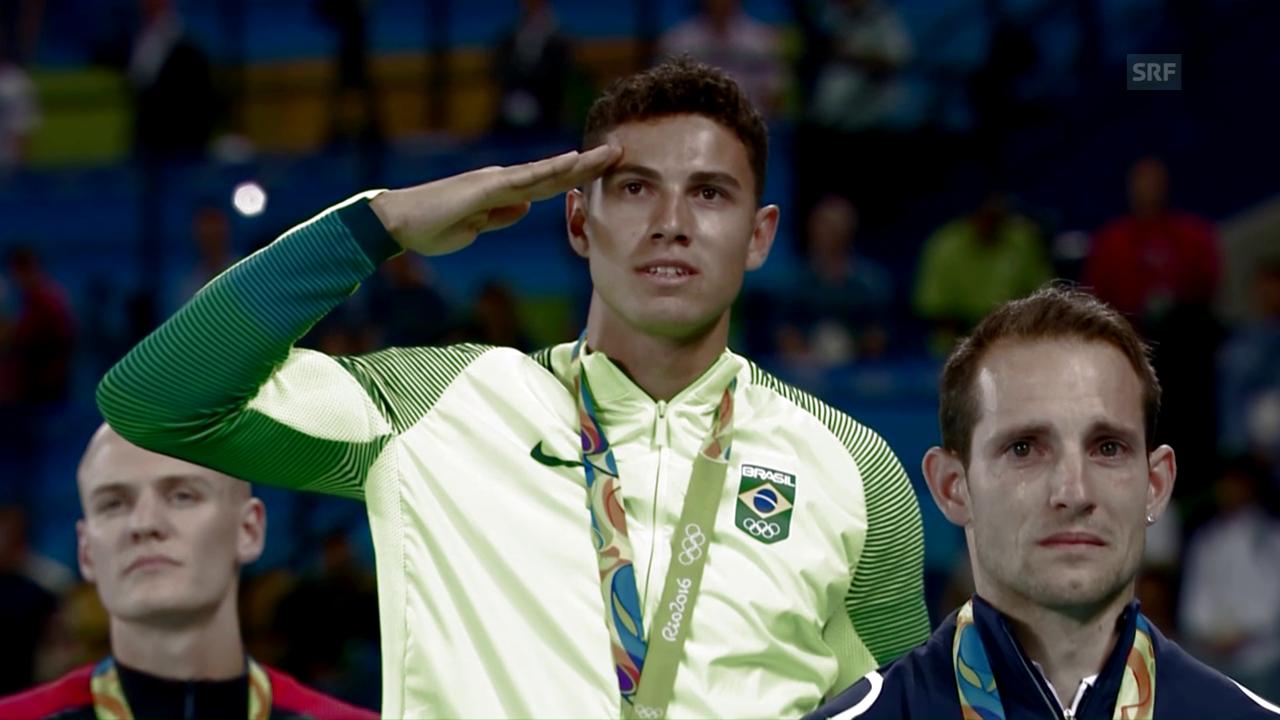 Der Olympiasieg stellte die Welt von Thiago Braz da Silva auf den Kopf