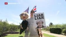 Video «Grossbritannien ein Jahr nach dem Brexit-Referendum» abspielen