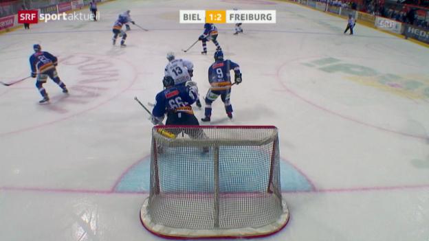Video «Eishockey: Biel - Freiburg» abspielen
