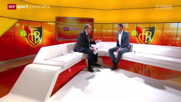 Video «Studiogast: Bernhard Heusler, Gespräch Teil 2» abspielen