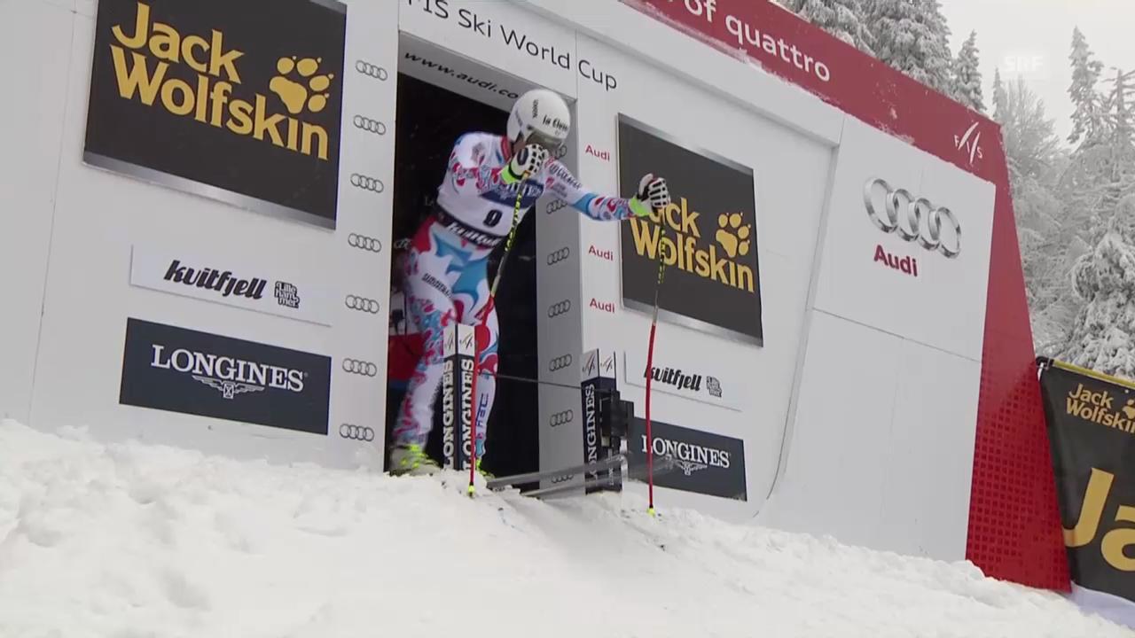 Ski Alpin: Abfahrt Kvitfjell, Fahrt von Clarey («sportlive», 01.03.2014)