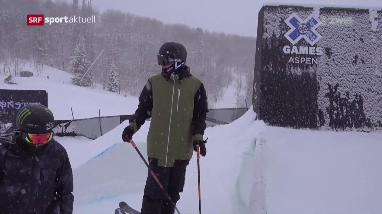 Die Schweizer Freeskier vor den X-Games in Aspen