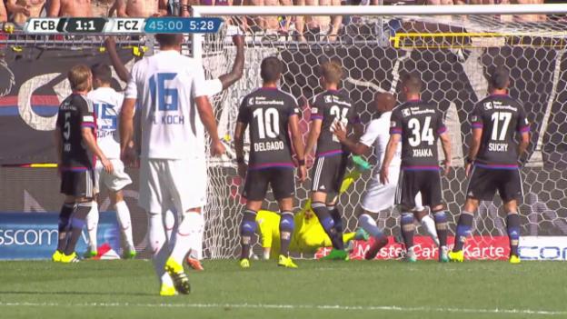 Video «Fussball: Super League, Basel - FCZ» abspielen