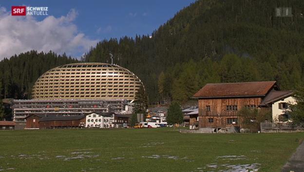 Video «Zuviele Luxuswohnungen in Davos» abspielen