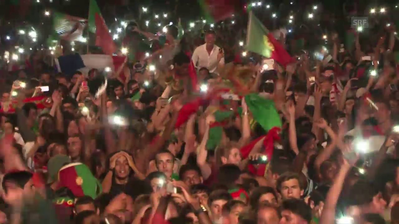 Tollhaus Lissabon: So durchfeierte Portugal die Nacht