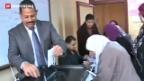 Video «Ägypten: ruhiger Wahlverlauf» abspielen