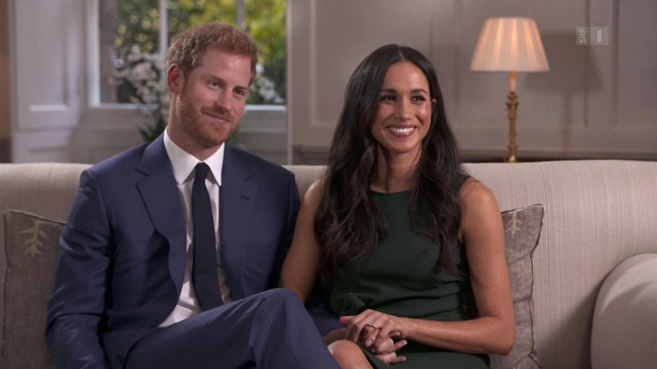 Prinz Harry und seine Verlobte sprechen über ihre Hochzeit