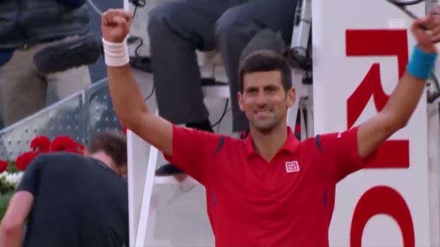 Video «Djokovic - Murray: Entscheidende Punkte» abspielen