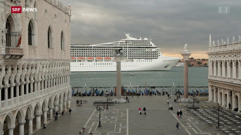 Aus dem Archiv: Venedig verbannt Kreuzfahrtschiffe