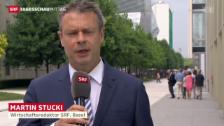 Video «SRF-Wirtschaftsredaktor Martin Stucki über das Honorar für Daniel Vasella» abspielen