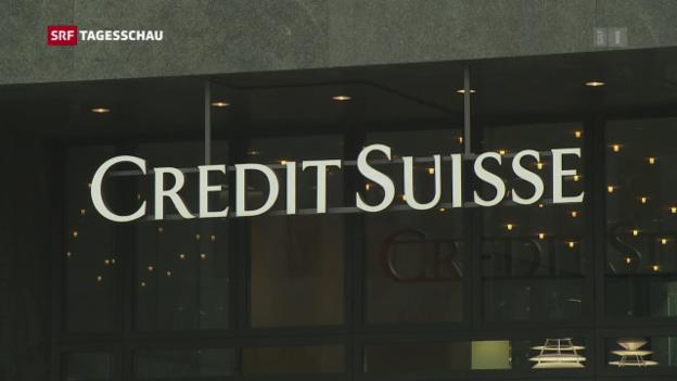 Video «Credit Suisse-Führung kürzt eigene Boni» abspielen