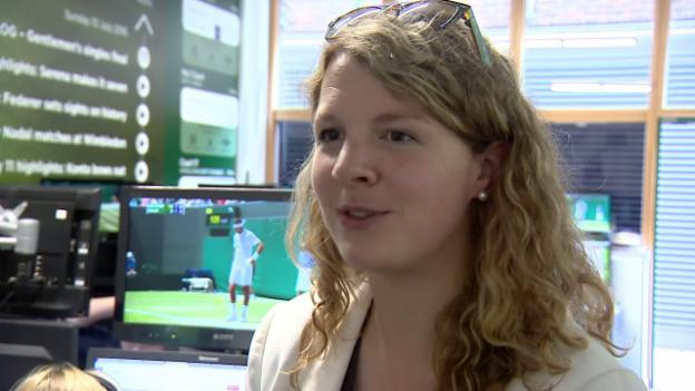 Video «Die 3 bislang besten Social-Media-Storys in Wimbledon 2017» abspielen