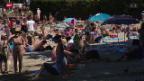 Video «Kanton Genf löst Hitze-Alarm aus» abspielen